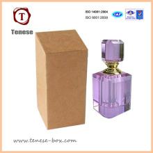 Caixa de presente de embalagem de perfume feita de papel Kraft