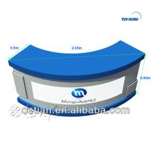 attraktive Rezeption Design Front Theken Tisch beliebte Rezeption