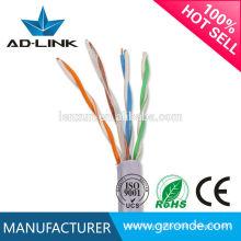 Alta calidad CE ROHS catapulta cat5 cat5e cat6 utp cables de red comunicar alambre OEM Desde el año de 1995
