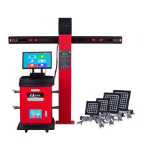 Automobile Maintenance Car Wheel Alignment, 3D Wheel Aligner Machine