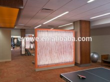 lumicor spray paint plexiglass for gym decoration