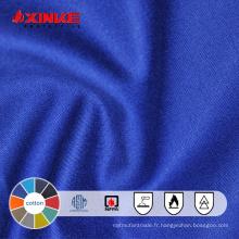 Tissu ignifuge en coton pur