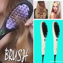 Ceramic Hair Straightening Electric Comb