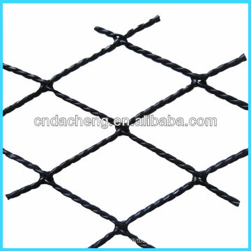 types of hi-tenacity fiber plastic-wrapped twisted fishnet for cage breeding