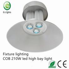 Iluminación del accesorio COB 210W llevó la luz de la bahía alta