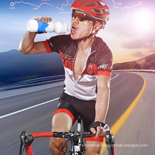 Plastic Outdoor Sports Water Bottle Leak-Proof Travel Cup Student Portable Space Cup Bicycle Water Cup Custom Logo