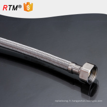 J5 tressé flexibles tuyaux de gaz naturel durable tressé tuyau ondulé tuyau flexible en métal