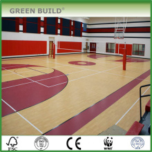 solid wood indoor sports flooring