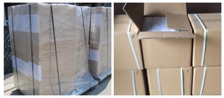 Pallet/Carton Packing of EVR10-058S Refrigeration Solenoid Valve
