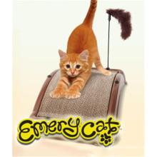 Пушистая игрушка игры Настольные кота Наждака для кошки