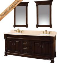 Шкаф для ванной комнаты с отделкой из нержавеющей стали Fed-1520