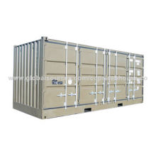 20ft Shipping Container with Full One Side Door and Rear Door Open with CSC Mark