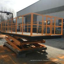 wholesale cheap price stationary scissor car/cargo lift