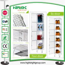 Muebles de malla de almacenamiento de malla de alambre