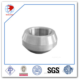 ASTM A105 Carbon Steel Threadolet MSS SP-97 with MNPT