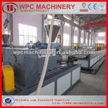 Máquina de plástico de madeira máquina de polímero de madeira