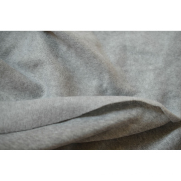 100% Polyester One Side Brushed Knit Fabric, Interloop Fabric