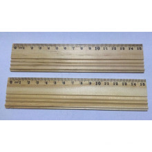 15cm Wooden Ruler for Stationery Supply