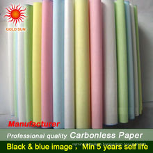 coloured paper rolls