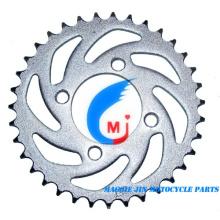 Piñón trasero de piezas de motocicleta para motocicleta Smash