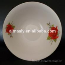 bols à soupe ronde en céramique en vente chaude