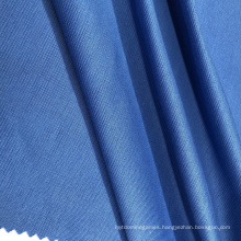 Blue Polyester Spandex Roma Knitted Fabric