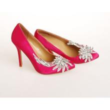 Novo estilo de moda sapatos de salto alto do casamento (hcy02-793)