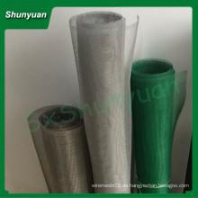 SHUNYUAN meistverkaufte nach usa von Aluminiumprofilen Insektenschutz / Epoxy beschichtetes Aluminium Mesh / Aluminiumlegierung Moskitonetz