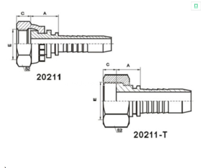 Metric Seat Connector