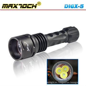 Maxtoch DI6X-5 LED linterna Cree Dive