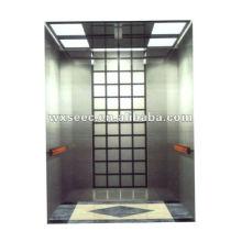 Mirror Etching MRL Passenger Elevator
