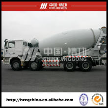 Concrete Mixer Truck (HZZ5310GJBSD) with High Performance China Supply and Marketing