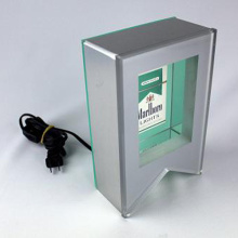 LED Zigarette Display Stand, Acryl Licht Box für Zigarette
