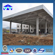 low price outdoor steel structure car garage from factory