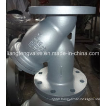 Y-Strainer with Flange End Carbon Steel