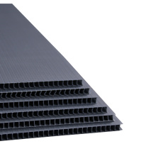 Black Corrugated Plastic Sheet