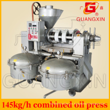 Máquina de fabricación de aceite de semilla pequeña con filtro Yzlxq10