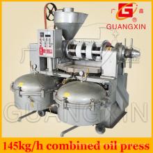 Pequeno óleo de semente que faz a máquina com filtro Yzlxq10