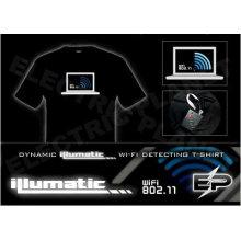 [Супер дело]оптом 2009 мода горячие продажа футболка А6,El футболки,LED футболки
