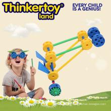 Education Toy for Kids Preschool Plastic Building Blocks