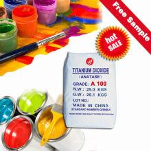 Dioxyde de titane de faible poids lourd E171 pour peintures (A100)