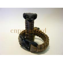 550lbs plastic buckle paracord bracelet cabra bracelet