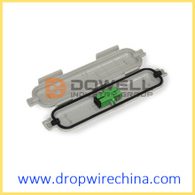 Fiber Optic Splicing Protective Box with Adapter