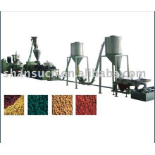 PVC and Wood Pelletizing Production Line