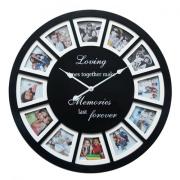 Reloj de la foto hermosa