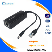 HRUI 10 / 100M Standard 48V zu 24V / 12V POE-Verteiler für poe Schalter