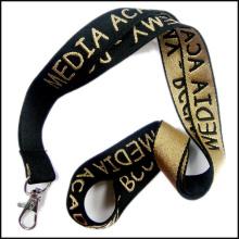 Cordón personalizado hecho punto a mano / cambiado del logotipo de Digitaces para el personal