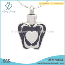 Special silver urn pendants for ashes,keepsake ashes lockets jewelry