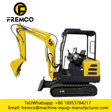 Compact Excavator 2.2 Ton With Attachments
