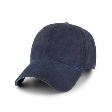 Gorra de béisbol de algodón Blank Oil con lavado